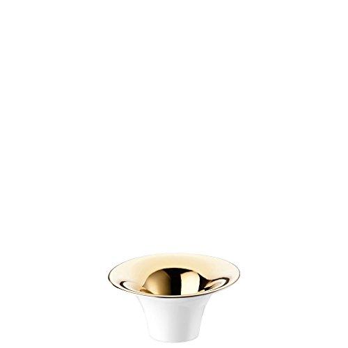 Rosenthal - Solitaire Tischlicht - Teelichthalter - Gold titanisiert