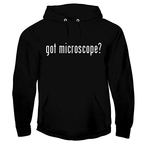 got microscope? - Men's Soft Graphic Hoodie Sweatshirt, Black, XXX-Large