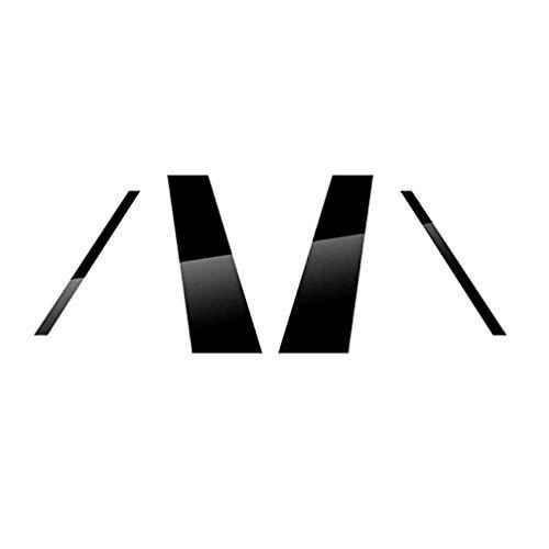 Coche Ventana B Postes Pilar Molduras Tira, Window Center Columna Decoración Panel Sticker Trim, Auto Styling Accessories, para Audi Q8 2018 2019 2020