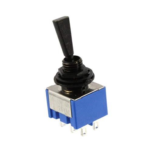Allparts EP-0081-010 Interruptor Mini Switch, encendido/en Chrome