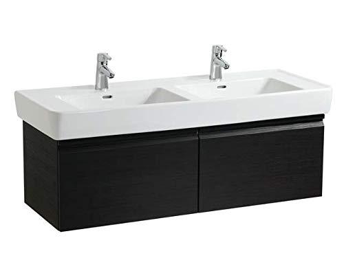Laufen Pro A Waschtischunterschrank zu Waschtisch 814967, 2 Schubladen, 390x1220x450, Farbe: Wenge
