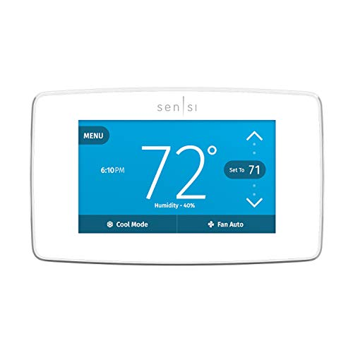 Emerson Sensi Touch Wi-Fi Smart Thermostat ST75W | Amazon.com