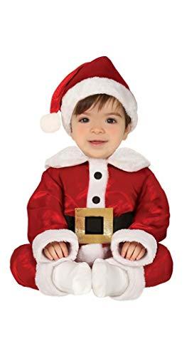 Guirma Costume Bambino Babbo Natale, Colore Rosso, 6-12 Mesi (64-88 cm), 41697