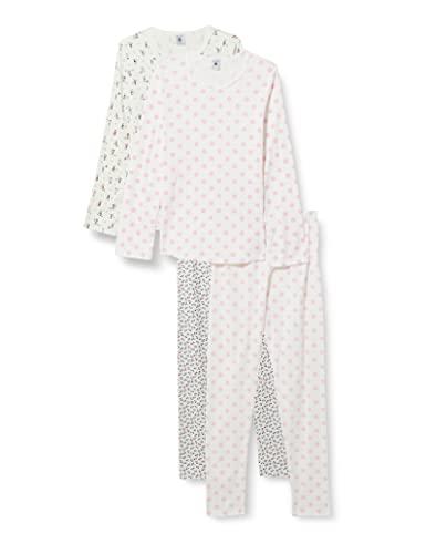 Petit Bateau 5845700 Pajama Set, Multicolor, 4 Ans Girls