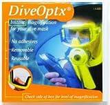 Dive Optx Stick on Reading Lenses +1.25