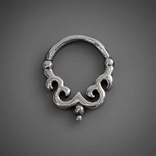Sagia Kalisky Silver Piercing Jewelry Sterling Silver Real Septum