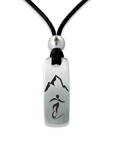 C2 Sportschmuck Halskette Einrad Downhill E