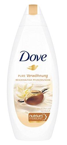 Corps Dove laver le beurre de karité et parfum de vanille, 250ml / Gel douche / baignoire