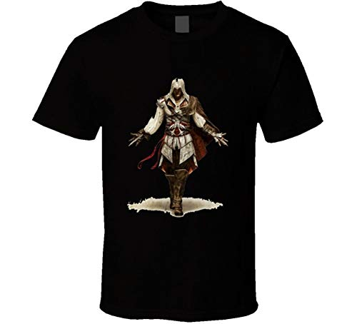 Res Assassin'S Creed 2 Brotherhood Ps3 Black T Shirt