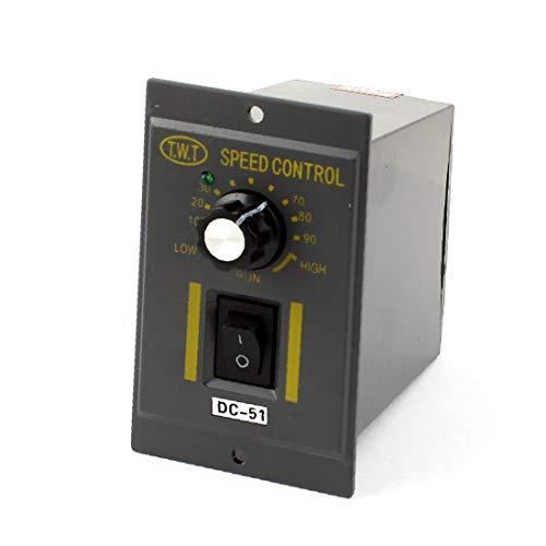 X-DREE CA 220V a DC 90V 200W Perilla giratoria Regulador de velocidad del motor de engranaje ajustable (682a62ab7f6061ae80f31910116d452a)