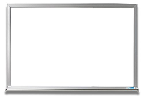 EverWhite Magnetic Aluminum Framed Board with Tray, 4' Height x 6' Length (L7100-4X6)