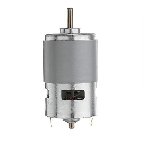 Leloo Lruirui-Motor DC MAX 35000 RPM DC 12V-24V, rodamiento de Bolas Tor Power de Alta Potencia de Alta Potencia Motor de componente electrónico de Motor eléctrico, Piezas de Bricolaje