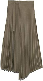 [ミラ オーウェン] フロントデザインプリーツスカート 09WFS192023