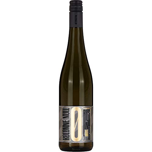 Kolonne Null - Alkoholfreier Riesling Stillwein vom Weingut Axel Pauly - 0% Vol. Alk - 750 ml Flasche