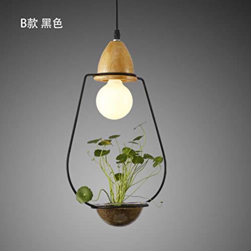 5151BuyWorld plantenlamp in bloempot, LED, eenvoudige verlichting van bloem en gras landelijk, touw van glas van plant van Droplight premium kwaliteit {}