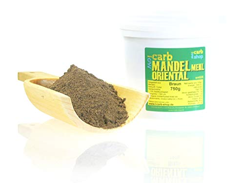-Carb MANDELMEHL ORIENTAL (braun entölt) 750 g