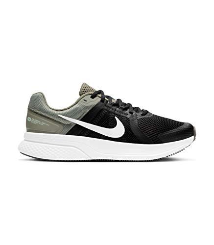 Nike Run Swift 2, Zapatillas para Correr Hombre, Lt Army Pure Platinum Black Barely Green White Gum Dk Brown, 43 EU
