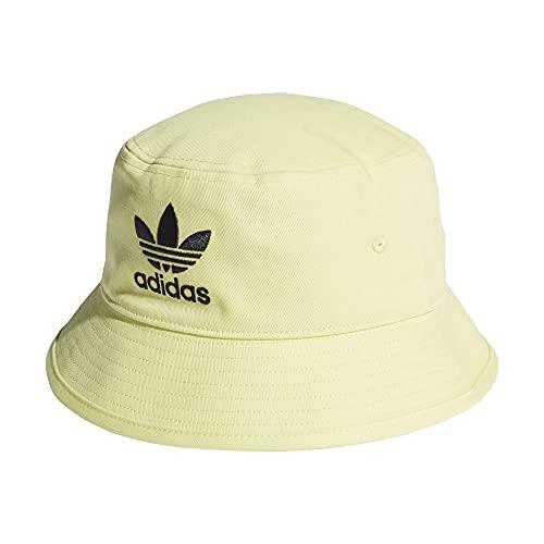adidas Bucket Hat - Sombrero de pescador para el sol (talla única), color amarillo