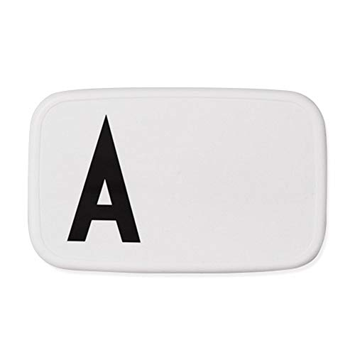 Design Letters Lunch Box (WEISS) - A
