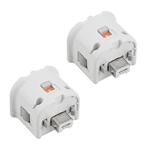 2 adaptadores Motion Plus para N-intendo Wii, mando a distancia externo, accesorios...