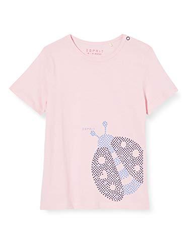 ESPRIT KIDS Baby-Mädchen RQ1006102 SS T-Shirt, Rosa (Light Pink 311), (Herstellergröße: 68)