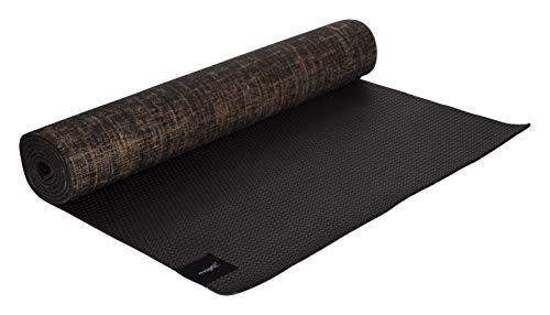 MAGFIT Premium Jute Yoga MAT 5 MM (Black)