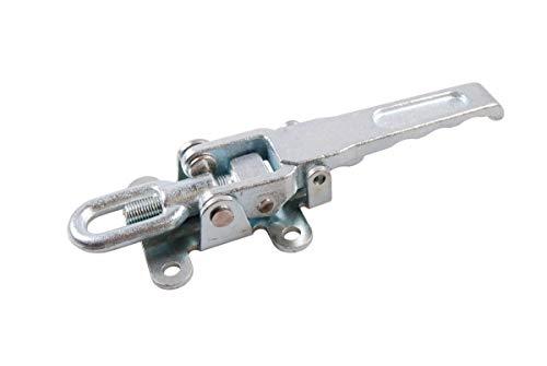 2x Anh/änger Spannverschluss Stahl Anh/ängerklappe Deckel Stauf/ächer 275x80x30mm