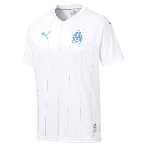 Puma Olympique Marsella Temporada 2020/21-HOME Shirt Replica SS with Sponsor Camiseta Primera...