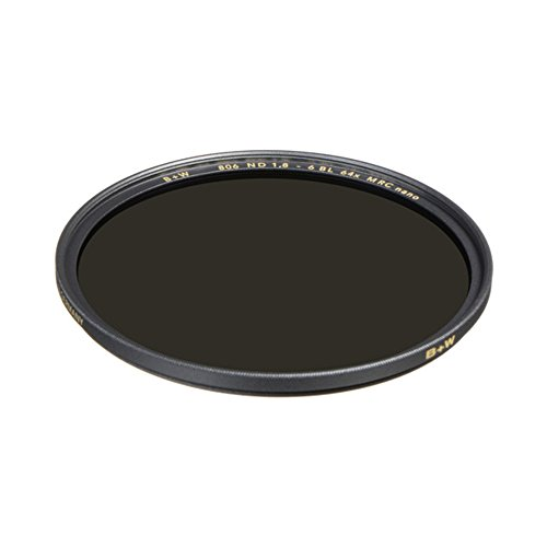 B+W 1089230 Graufilter ND64 77mm, MRC Nano, XS-Pro, 16x vergütet, Slim, Premium matt-schwarz