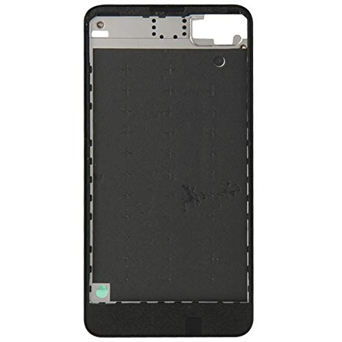 Zhouzl Nokia Spare Custodia Anteriore for Nokia Lumia 630 (Nero) Nokia Spare (Colore : Black)