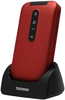 Telefunken TM 360 Cosi -  Teléfono Móvil, color Rojo