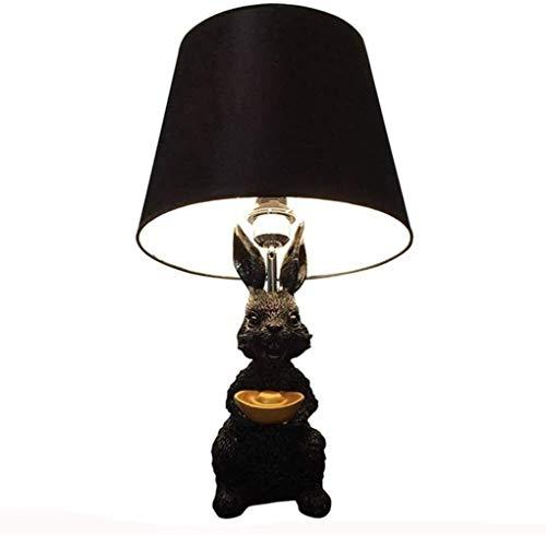 YLSP Goldbarren Harz Kaninchen Lampe Kinder Kinder Wohnzimmer Schlafzimmer Lampe Cartoon Lampe (Color : -, Size : -)