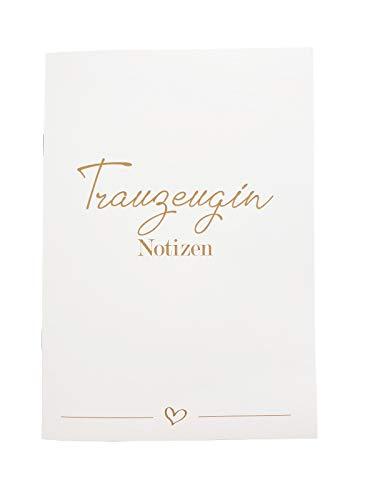 Planer für die Trauzeugin Notizen Gedanken Hochzeitsplanung Geschenk Hochzeit