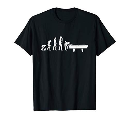 Billard / Snooker Evolution, Lustiger Billard Spruch T-Shirt
