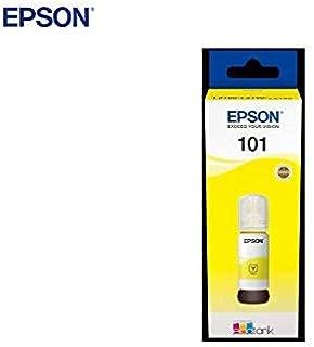 Epson 101Yellow Yellow Original Ink Tank for Printer, 70 ml