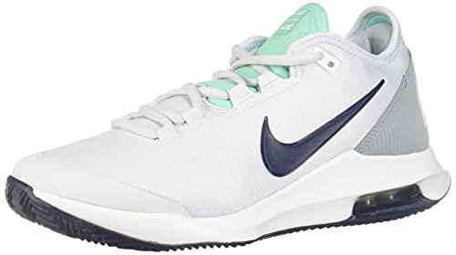 Nike Air Max Wildcard Cly, Scarpe da Tennis Donna, Grey Midnight Navy-Pallone da Calcio, Colore: Grigio, 41.5 EU
