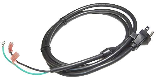 (New Part) N137875 Air Compressor Cord Set Porter Cable DeWalt Craftsman/firs for many models, check in description + (one free author's book)