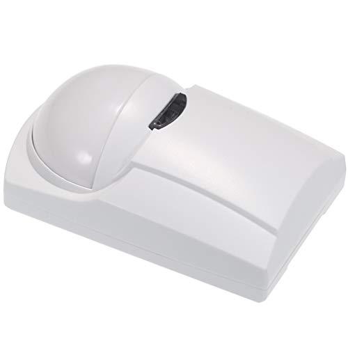 Garneck Door Window Alarm Wireless Door Infrared Detector Human Body Sensor Detector for Home Security Use(Without Battery)