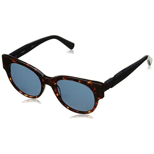 BOSS Orange BO 0266/S CT GPH Gafas de sol, Marrón (Havana Blue/Bluette), 50 Unisex Adulto