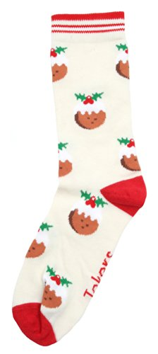 Festive Feet Damen Socken Gr. One size, Cream Puddings