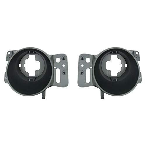 For Ford F-150 Pair Fog Lights Housing 2005 06 07 2008 Driver and Passenger Side Assembly Unit From 8-9-05 FO2600101 FO2601101 - replaces 6L3Z 15266BA 6L3Z 15266AA