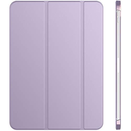 JETech Hülle Kompatibel mit iPad Air 4. Generation 2020 10,9 Zoll, Intelligent Schutzhülle mit Auto Schlafen/Wachen, Helles Lila