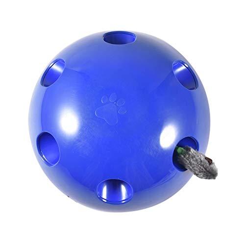 Pepional Katzenspielzeug Elektrisch, Interaktive Bewegung Spähen Sie EIN Boo-Katzenspielzeug,Teaser-Maus-Quietschgeräusch Optionales Automatisches Abschalten des Katzenmaus-Trainingsspielzeugs