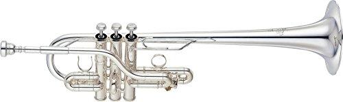Yamaha YTR-9636 Custom Series Eb/D Trompete silber