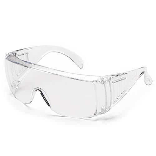 Gafas de protección Univet 520.11.00.00, n.º 520, cristal transparente