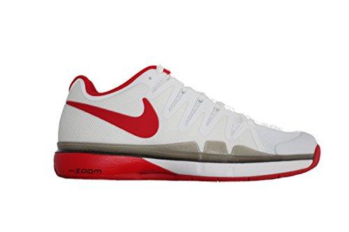 Nike Herren 845042-101 Zoom Vapor 9.5 Tour CPT Turnschuhe, Weiß (White/University Red-Black), 42,5 EU