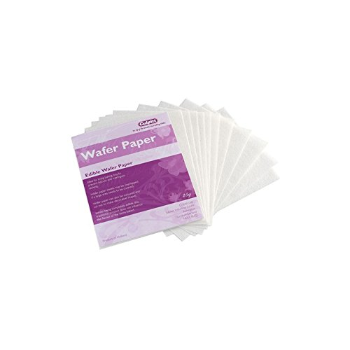 Edible Wafer Paper - Pack of 12 Sheets