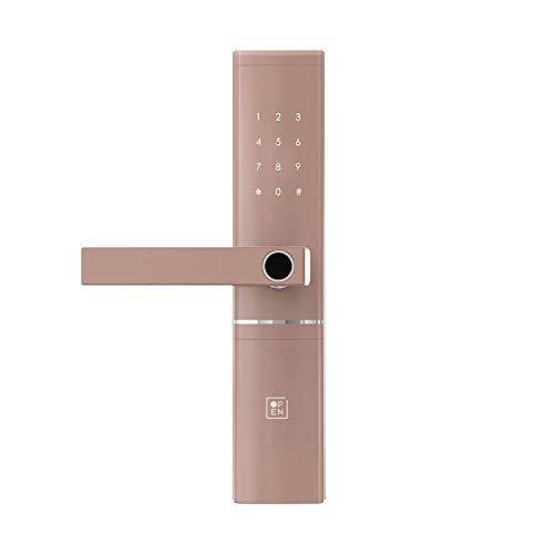 OPEN Door Four Smart Door Lock with 5-Way Unlocking, OTP Time Bound Access, Activity Logs, Fingerprint, Passcode, NFC Card and...