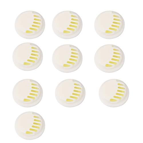 10/20/50 Stück Aktivkohle Ersatzfilter + Atemventil Anti-Dunst-Masken Filterelement Filter Atmungsaktiv Mundschutz Maskenfilter Staubfilter für Sport Atemschutzmaske Staubmaske (10PCS)
