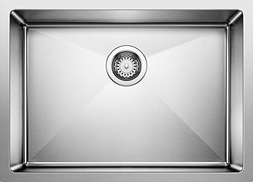 BLANCO 519547 QUATRUS R15 Undermount Stainless Steel Kitchen Sink
